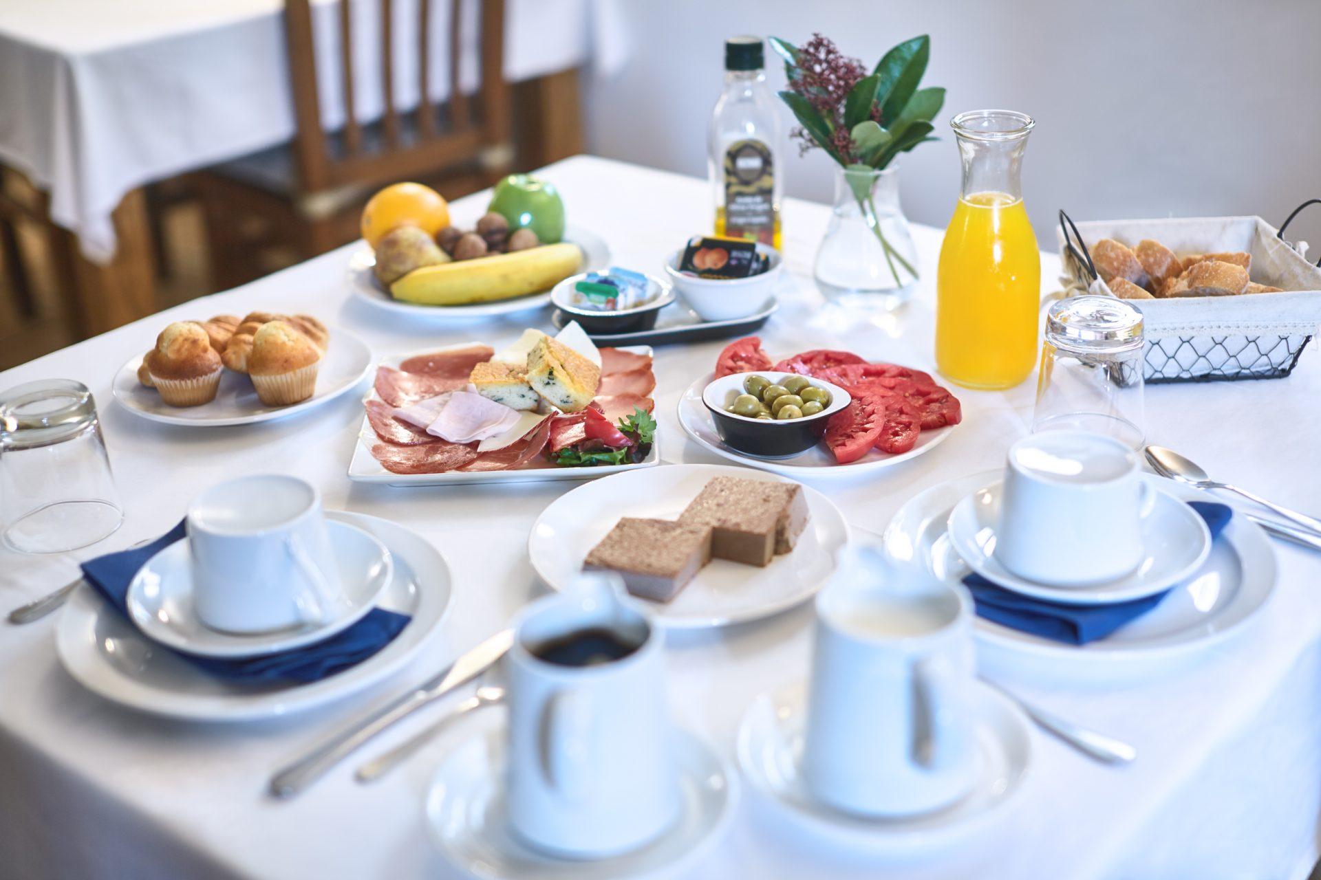 Desayuno casa rural